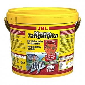 Flocons pour cichlidés prédateurs JBL Novo Tanganyika 5,5L