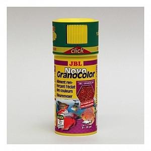 Granulés renforçant l'éclat des couleurs JBL Novo GranoColor avec doseur 250ml