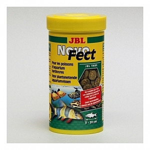 400 Comprimés pour herbivores JBL NovoFect 250ml