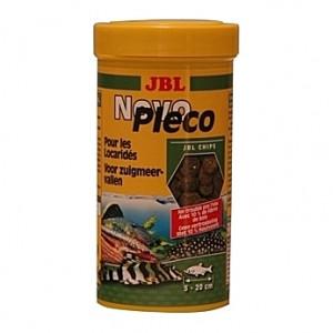 Comprimés pour locaridés JBL NovoPleco Chips 250ml