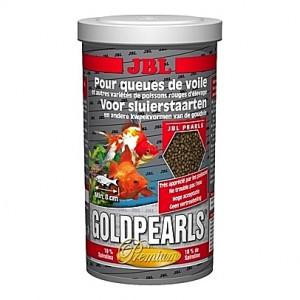 Perles alimentaires pour poissons rouges Premium GOLDPEARLS 1L