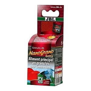 Granulés aliments principaux pour Betta JBL NanoGrano 60ml