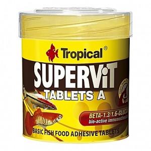 Comprimés vitamines stimulant le système immunitaire SUPERVIT TABLETS A 50ml