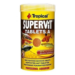 Comprimés vitamines stimulant le système immunitaire SUPERVIT TABLETS A 250ml