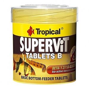 Comprimés vitamines stimulant le système immunitaire SUPERVIT TABLETS B 50ml