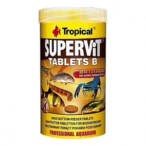 Comprimés vitamines stimulant le système immunitaire SUPERVIT TABLETS B 250ml