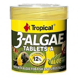 80 Comprimés aux algues + Aloe Vera 3-ALGAE TABLETS A - 50ml