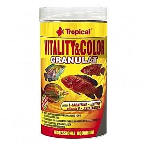 Granulés protéinés rehaussant la vitalité et les couleurs VITALITY & COLOR GRANULAT 250ml