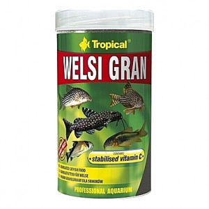Granulés aliments de base pour poissons de fonds WELSI GRAN 250ml