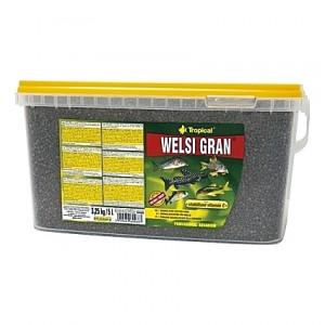 Granulés aliments de base pour poissons de fonds WELSI GRAN 5L