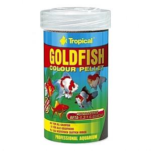 Granulés flottants ravive couleurs pour poissons rouges GOLDFISH Colour PELLET 100ml