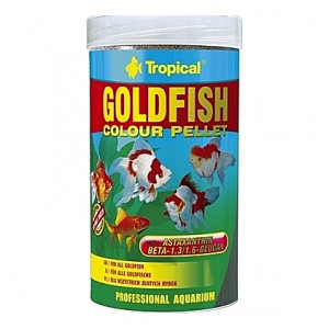 Granulés flottants ravive couleurs pour poissons rouges GOLDFISH Colour PELLET 250ml