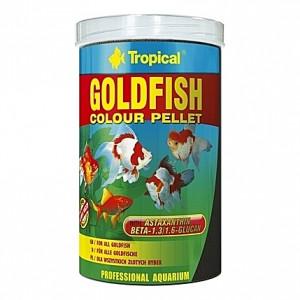Granulés flottants ravive couleurs pour poissons rouges GOLDFISH Colour PELLET 1L