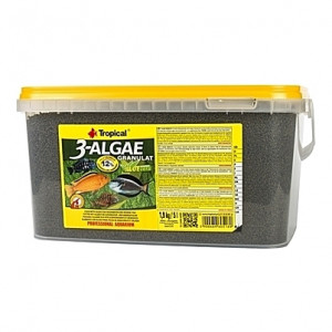 Granulés aux algues (dont chlorella) 3-ALGAE GRANULAT 5L