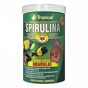 Granulés aux algues (dont spiruline) SUPER SPIRULINA FORTE GRANULAT 1L