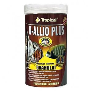 Granulés Discus et Cichlidés D-ALLIO PLUS GRANULAT (ail) 250ml