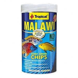 Chips multi-ingrédients pour cichlidés MALAWI CHIPS 250ml