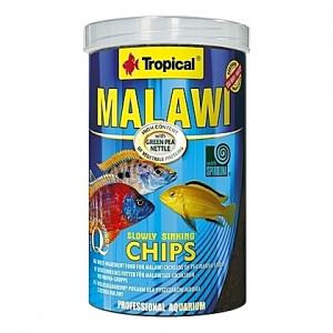 Chips multi-ingrédients pour cichlidés MALAWI CHIPS 1L