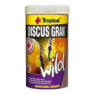 Granulés riches en protéines pour des Discus colorés DISCUS GRAN Wild 250ml