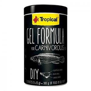 Gel pour préparations maison carnivores GEL FORMULA CARNIVOROUS 1L (3x35g)