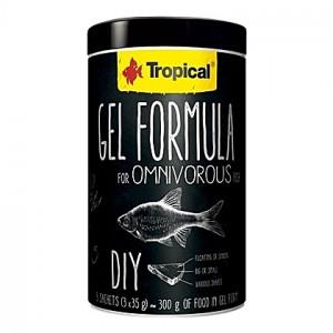 Gel pour préparations maison omnivores GEL FORMULA OMNIVOROUS 1L (3x35g)
