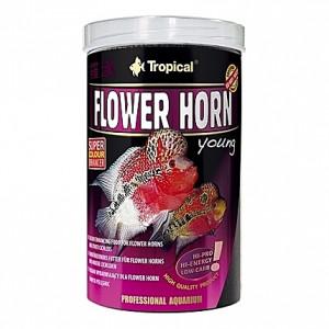 Boulettes flottantes riches en protéines FLOWER HORN young - 1L