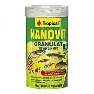 Petits granulés descendants NANOVIT GRANULAT 100ml