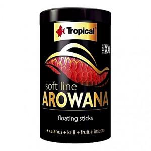 Bâtonnets flottants pour Arowanas adultes SOFT LINE AROWANA XXL Sticks 1L