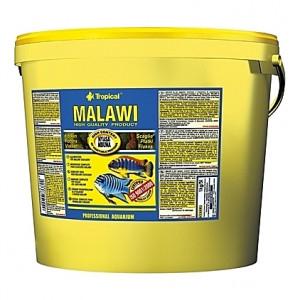 Aliments végétaux pour cichlidés MALAWI 5L