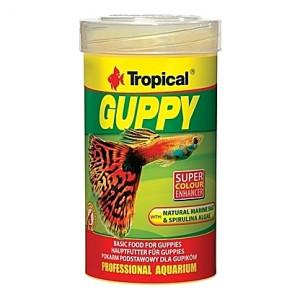 Aliments de base pour Guppy et vivipares GUPPY 100ml