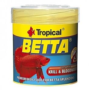 Alimentation de base pour combattants et poissons à labyrinthe de petite taille BETTA 50ml