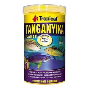 Nourriture de base pour cichlidés omnivores et carnivores du lac Tanganyika 1L
