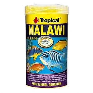 Flocons végétaux pour cichlidés MALAWI 250ml