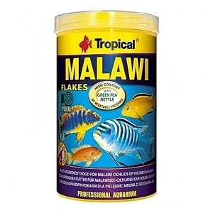 Flocons végétaux pour cichlidés MALAWI 1L