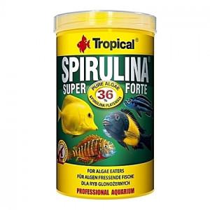 Flocons végétaux à haute teneur en spiruline SUPER SPIRULINA FORTE 1L