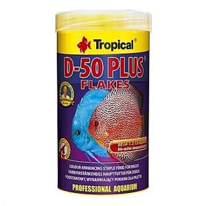 Flocons pour Discus riches en protéines D-50 PLUS 250ml