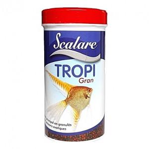 Granulés nourriture saine et équilibrée pour poissons tropicaux TROPI GRAN SCALARE 100ml