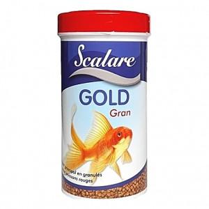 Granulés aliments complets pour poissons rouges GOLD GRAN SCALARE 100ml