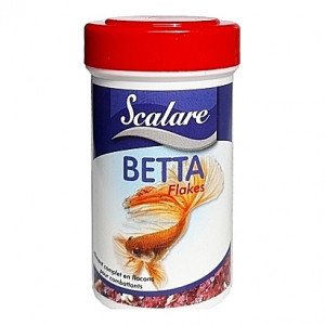Flocons pour combattants BETTA FLAKES SCALARE 100ml