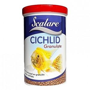 Granulés complets pour cichlidés CICHLID GRANULATE SCALARE 1L