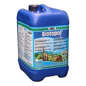Neutralisateur de chlore et métaux lourds + protection des pensionnaires JBL Biotopol - 5L (=20000L)