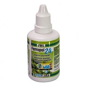 Engrais journalier d'oligo-éléments JBL Ferropol 24 - 50ml