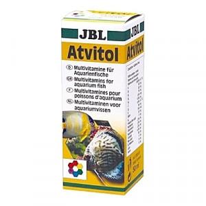Solution multi-vitaminées pour prévenir les carences et renforcer le système immunitaire JBL Atvitol - 50ml