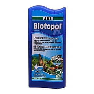 Neutralisateur de chlore et métaux lourds + protection des pensionnaires JBL Biotopol - 100ml (=400L)