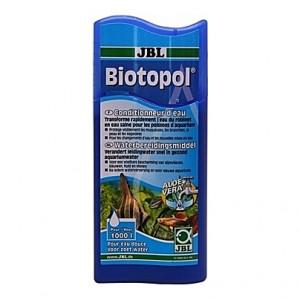 Neutralisateur de chlore et métaux lourds + protection des pensionnaires JBL Biotopol - 250ml (=1000L)