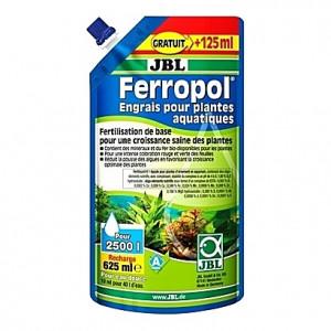 Engrais liquide stimulateur de croissance des plantes JBL Ferropol recharge - 625ml