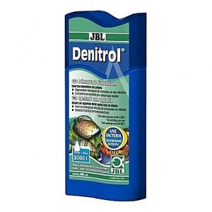 Bactéries vivantes pour dénitrification biologique et détoxication de l'eau JBL Denitrol - 100ml (=3000L)
