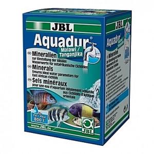 Sels minéraux (durcisseur d'eau et stabilisateur de pH) essentiels aux poissons Malawi/Tanganyika JBL AquaDur