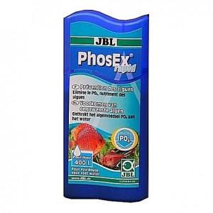 Eliminateur de phosphates PO4 (anti-algues) JBL Phosex Rapid - 100ml (=400L)
