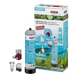 Kit complet de CO2 (bouteille jetable) EHEIM SET 200 - 500g (aquarium <200L)